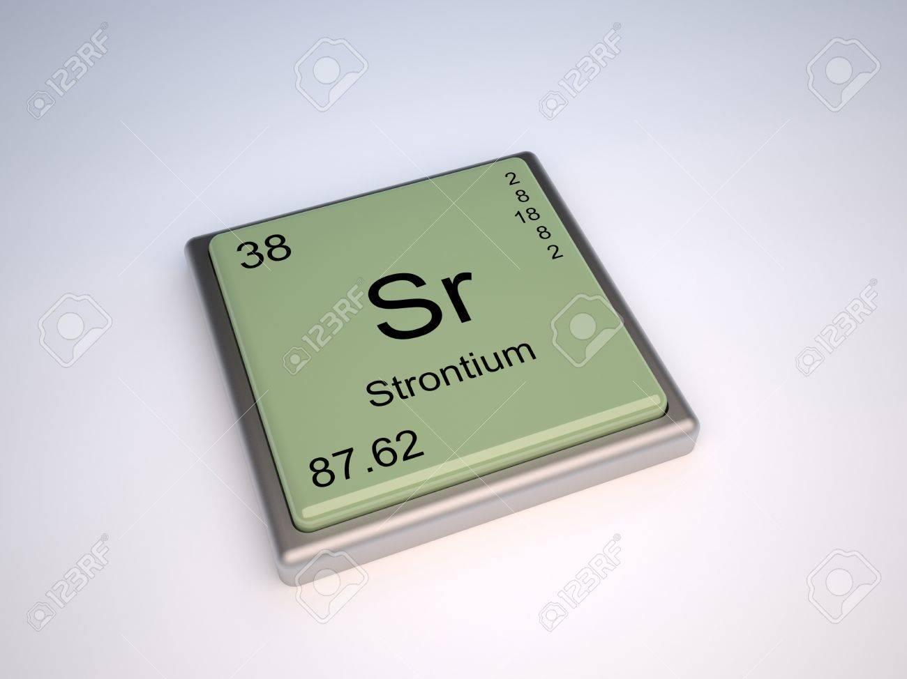 Strontium chemical element of the periodic table with symbol strontium chemical element of the periodic table with symbol sr stock photo 9257070 biocorpaavc