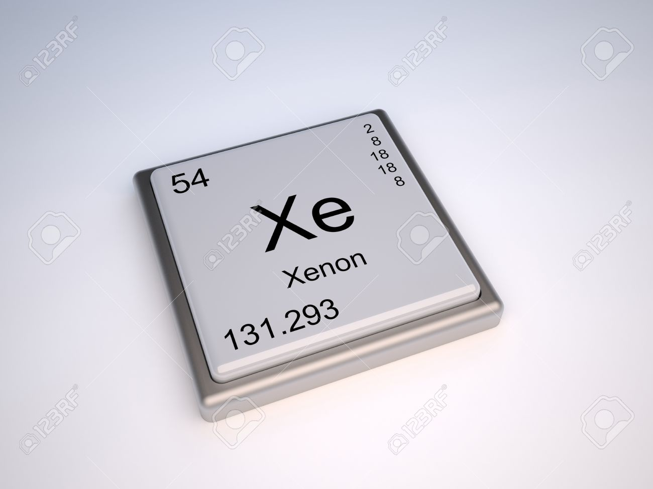 Xenon chemical element of the periodic table with symbol xe stock xenon chemical element of the periodic table with symbol xe stock photo 9257091 urtaz Images