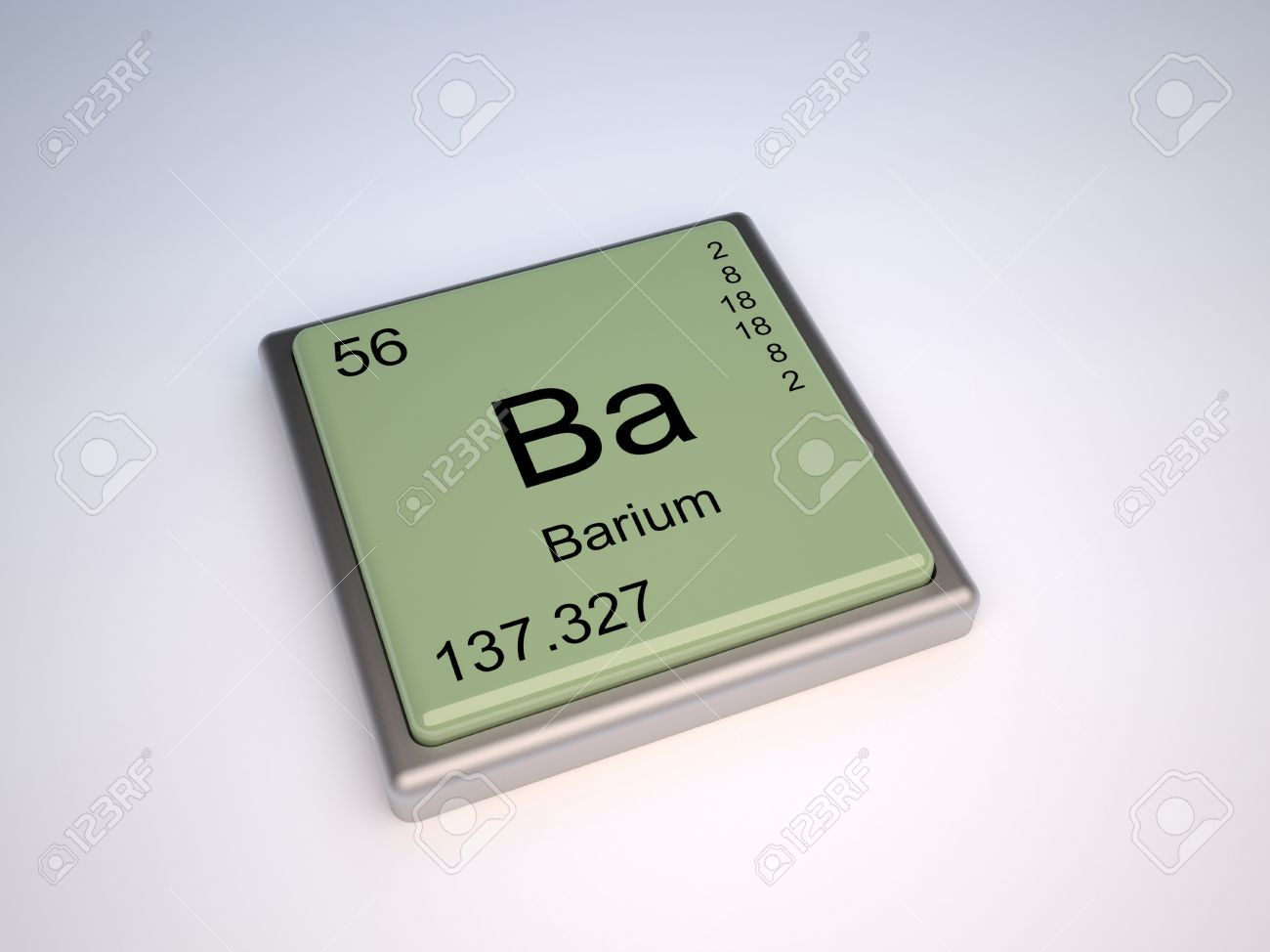 Barium chemical element of the periodic table with symbol ba stock barium chemical element of the periodic table with symbol ba stock photo 9257092 urtaz Image collections
