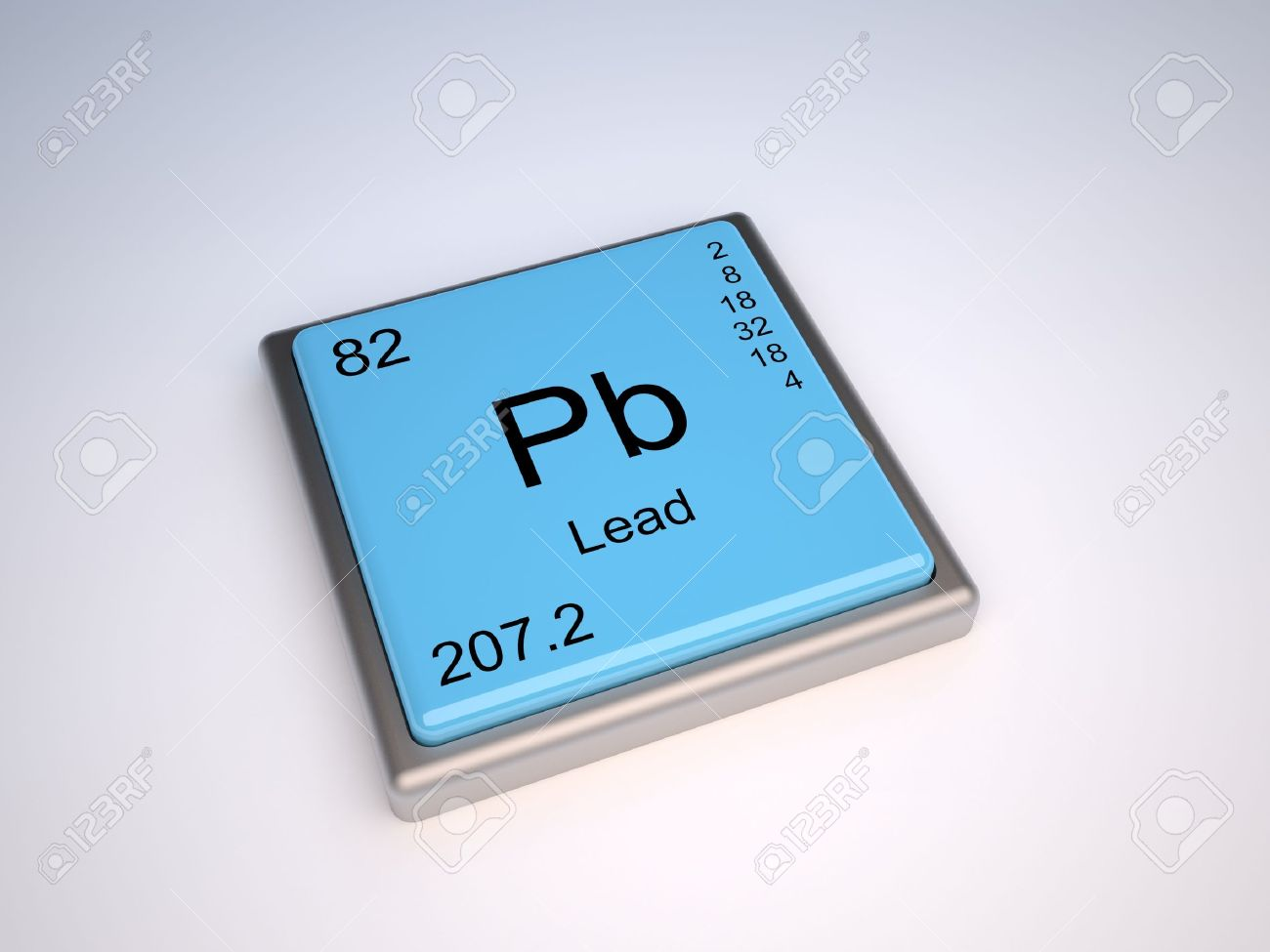 lead chemical element of the periodic table with symbol pb stock photo 10062365 - Periodic Table Symbol Pb
