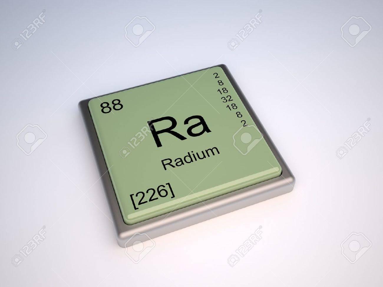 Elemento qumico de radio de la tabla peridica con smbolo ra elemento qumico de radio de la tabla peridica con smbolo ra foto de archivo 10062429 urtaz Choice Image