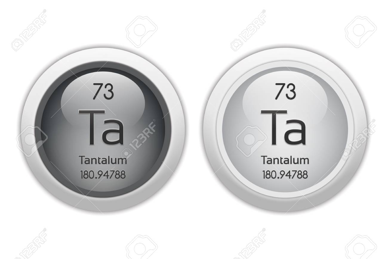 Tantalum - two glossy web buttons Stock Photo - 10469954