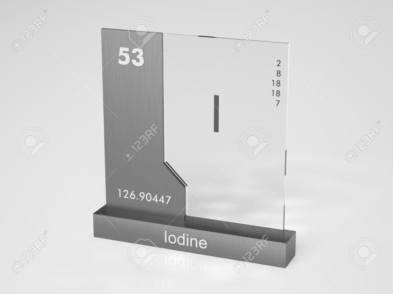Iodine symbol i chemical element of the periodic table stock iodine symbol i chemical element of the periodic table stock photo 10470007 urtaz Choice Image