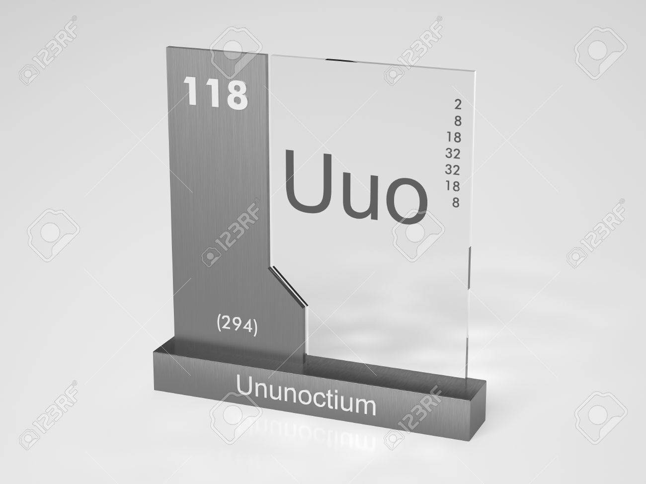 Ununoctium symbol uuo chemical element of the periodic table stock photo ununoctium symbol uuo chemical element of the periodic table urtaz Choice Image