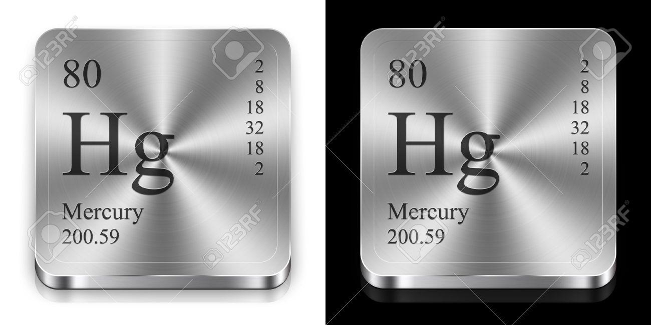 Mercurio elemento de la tabla peridica dos botones de la tela de foto de archivo mercurio elemento de la tabla peridica dos botones de la tela de acero urtaz Gallery