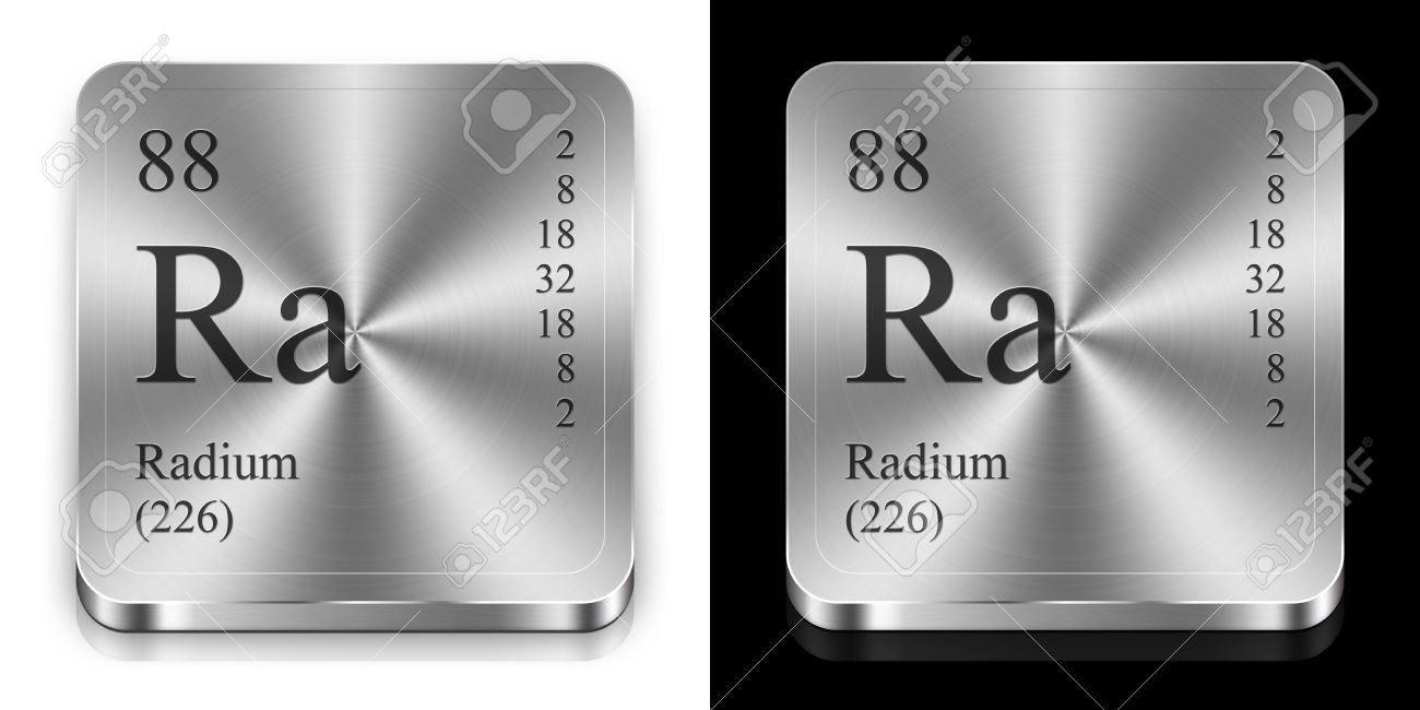Radium element of the periodic table two steel web buttons radium element of the periodic table two steel web buttons stock photo 12079210 gamestrikefo Images