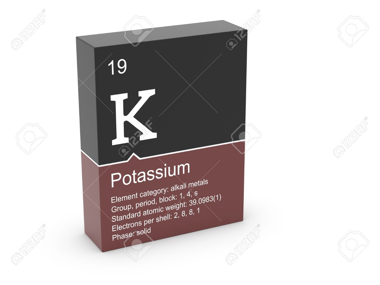 Potassium from mendeleev s periodic table stock photo picture and potassium from mendeleev s periodic table stock photo 12991849 urtaz Gallery