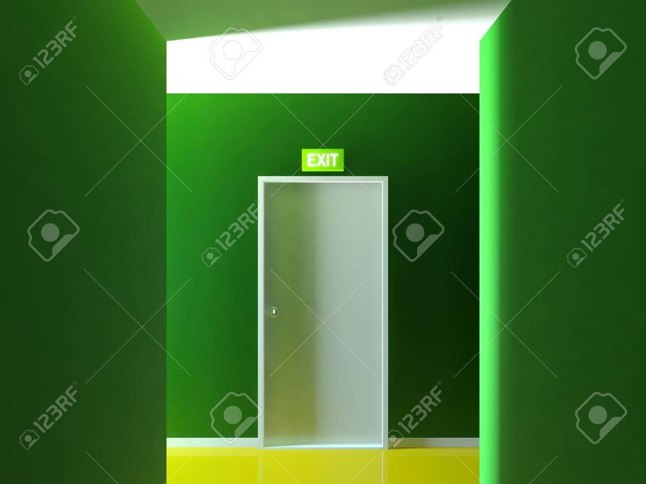 Emergency exit door Stock Photo - 14239730