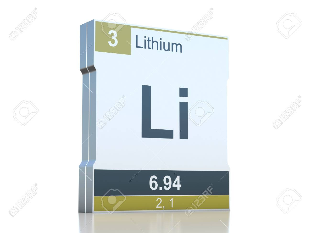 Lithium symbol element from the periodic table stock photo lithium symbol element from the periodic table stock photo 35945483 urtaz Choice Image