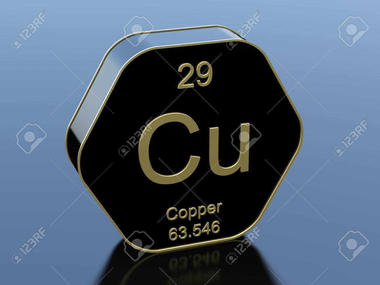 Copper element symbol on hexagonal black icon stock photo picture copper element symbol on hexagonal black icon stock photo 65586842 buycottarizona Image collections