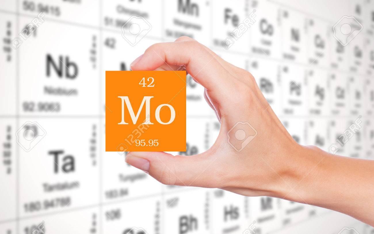 Molybdenum symbol from periodic table stock photo picture and molybdenum symbol from periodic table stock photo 69299599 urtaz Choice Image