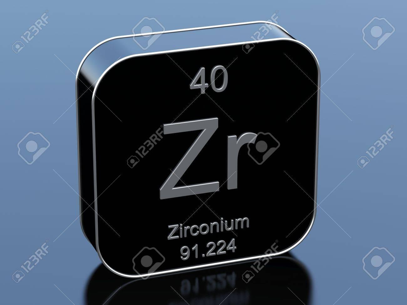 Zirconium from periodic table stock photo picture and royalty zirconium from periodic table stock photo 71643818 gamestrikefo Images