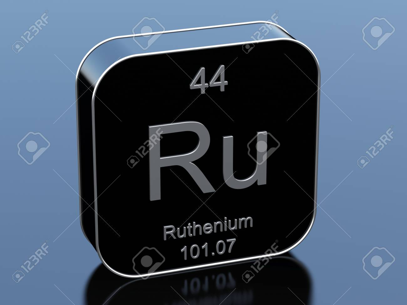 Ruthenium from periodic table stock photo picture and royalty ruthenium from periodic table stock photo 71643829 gamestrikefo Choice Image