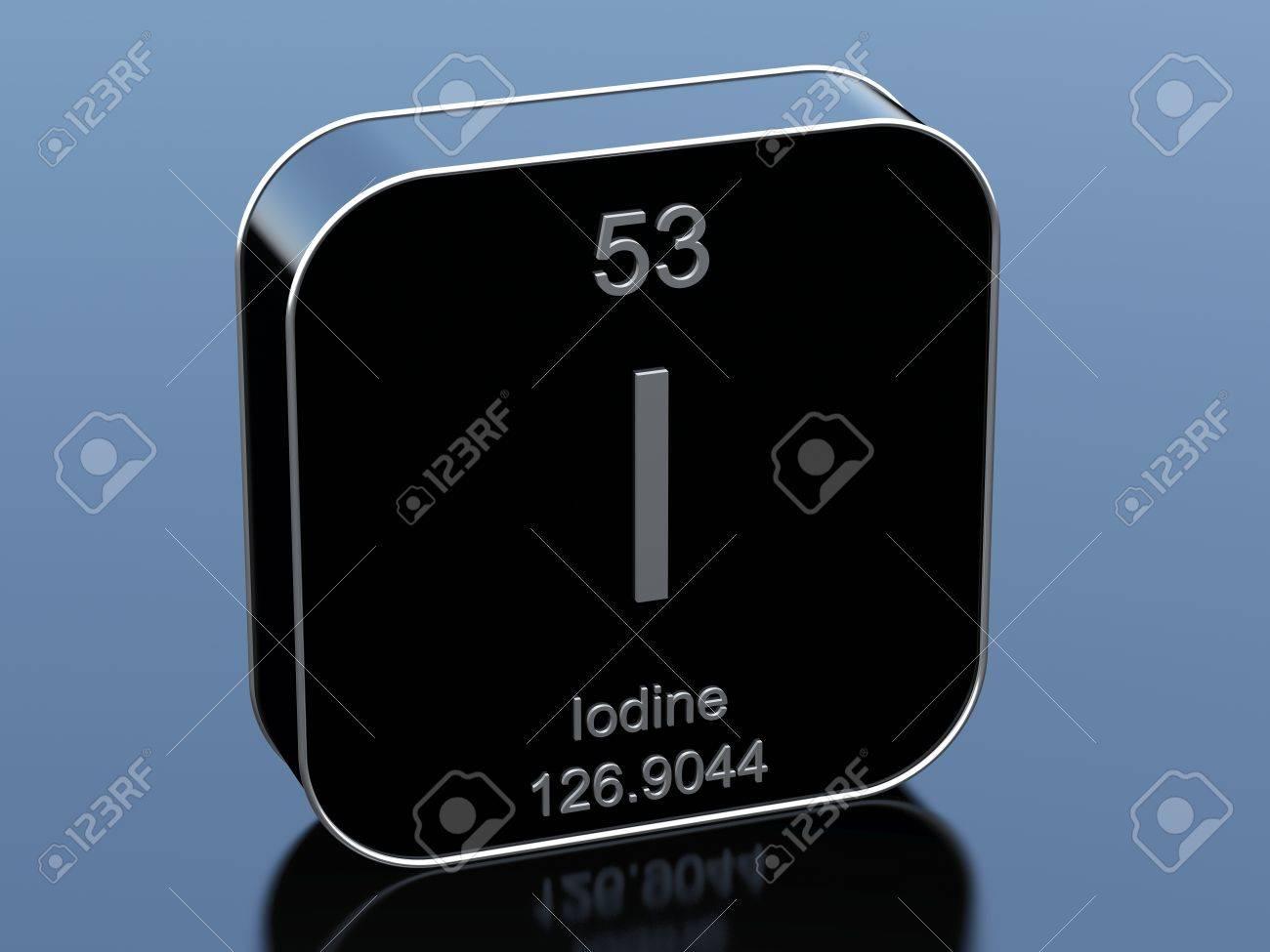 Iodine symbol from periodic table stock photo picture and royalty iodine symbol from periodic table stock photo 76322231 urtaz Image collections