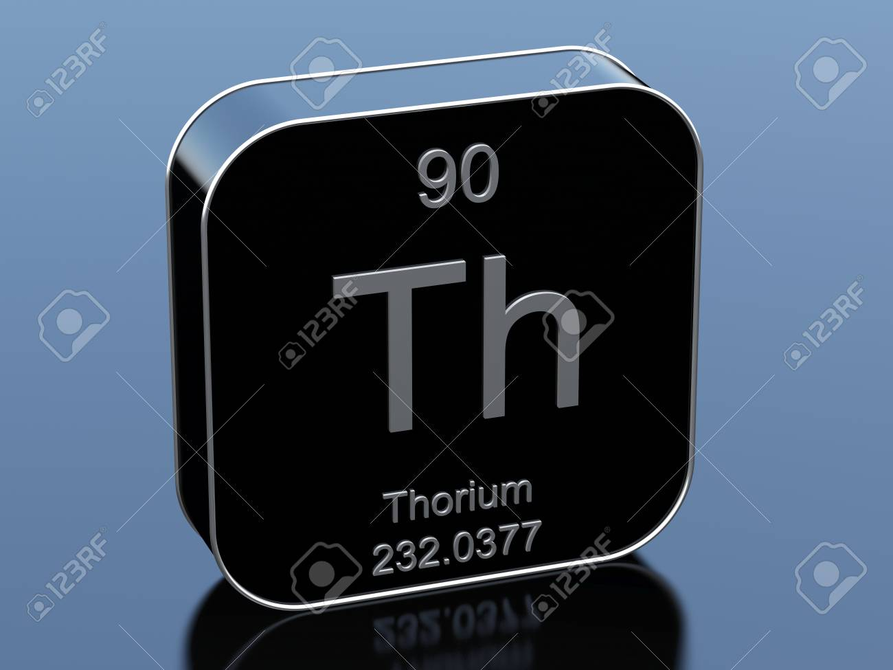 Thorium From Periodic Table Stock Photo Picture And Royalty Free