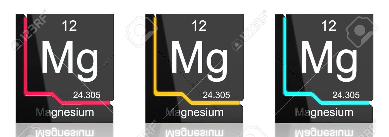 Magnesium element symbol from the periodic table in three colors magnesium element symbol from the periodic table in three colors stock photo 82735658 urtaz Choice Image