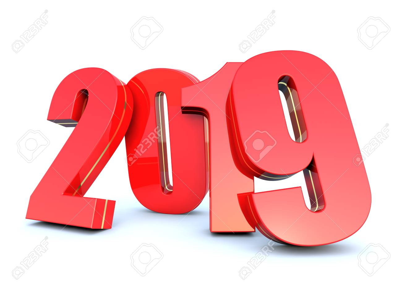 happy new year 2019 calendar background stock photo 96987305