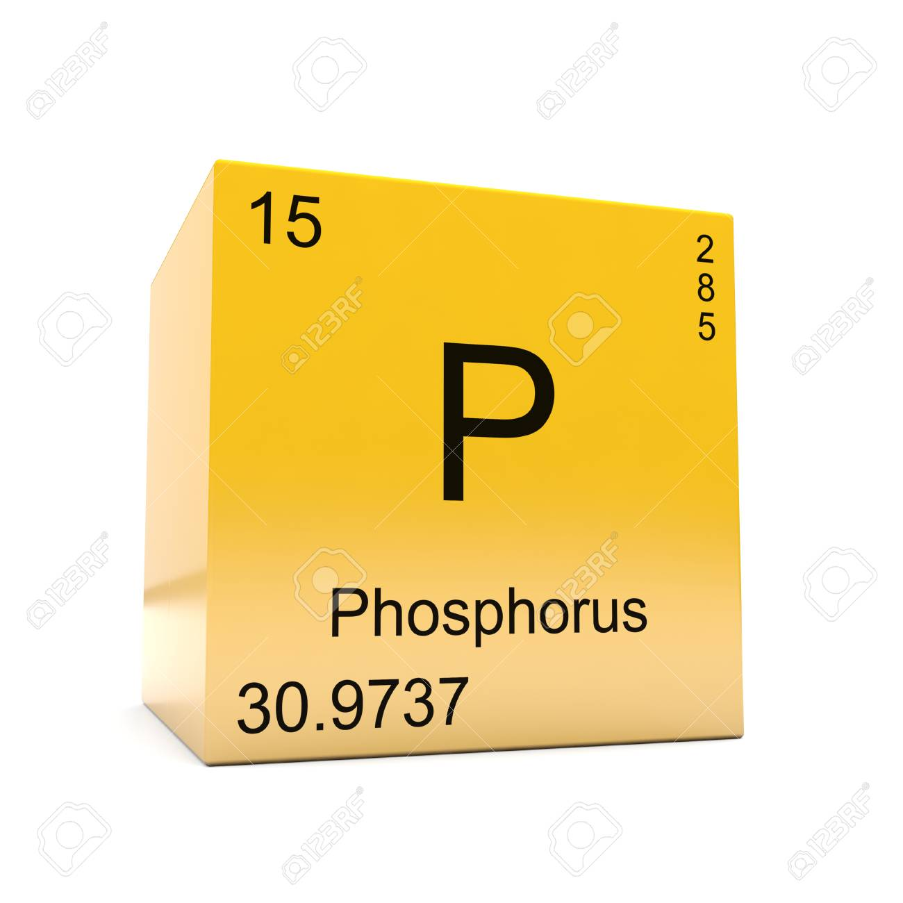 Phosphorus chemical element symbol from the periodic table displayed phosphorus chemical element symbol from the periodic table displayed on glossy yellow cube stock photo urtaz Image collections