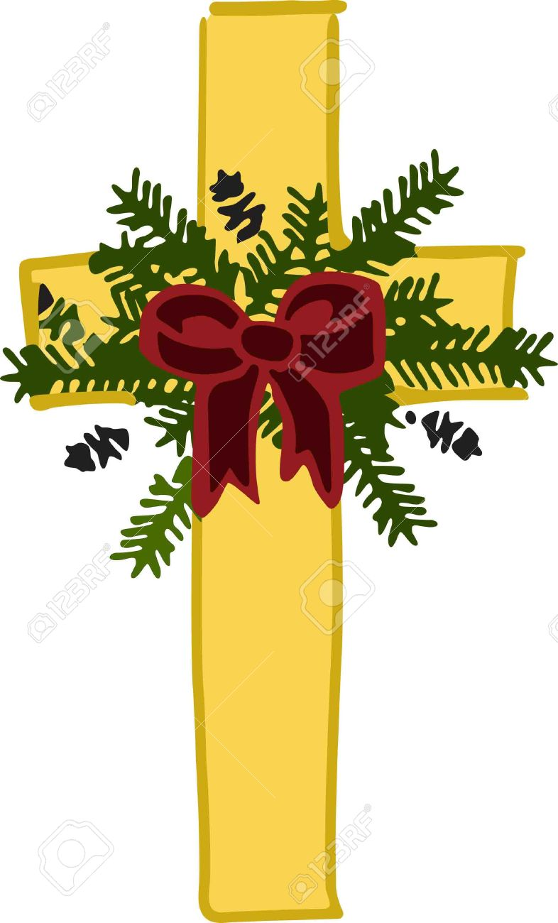 This Holiday Cross Is A Beautiful Piece To Embellish Altar Cloths ...