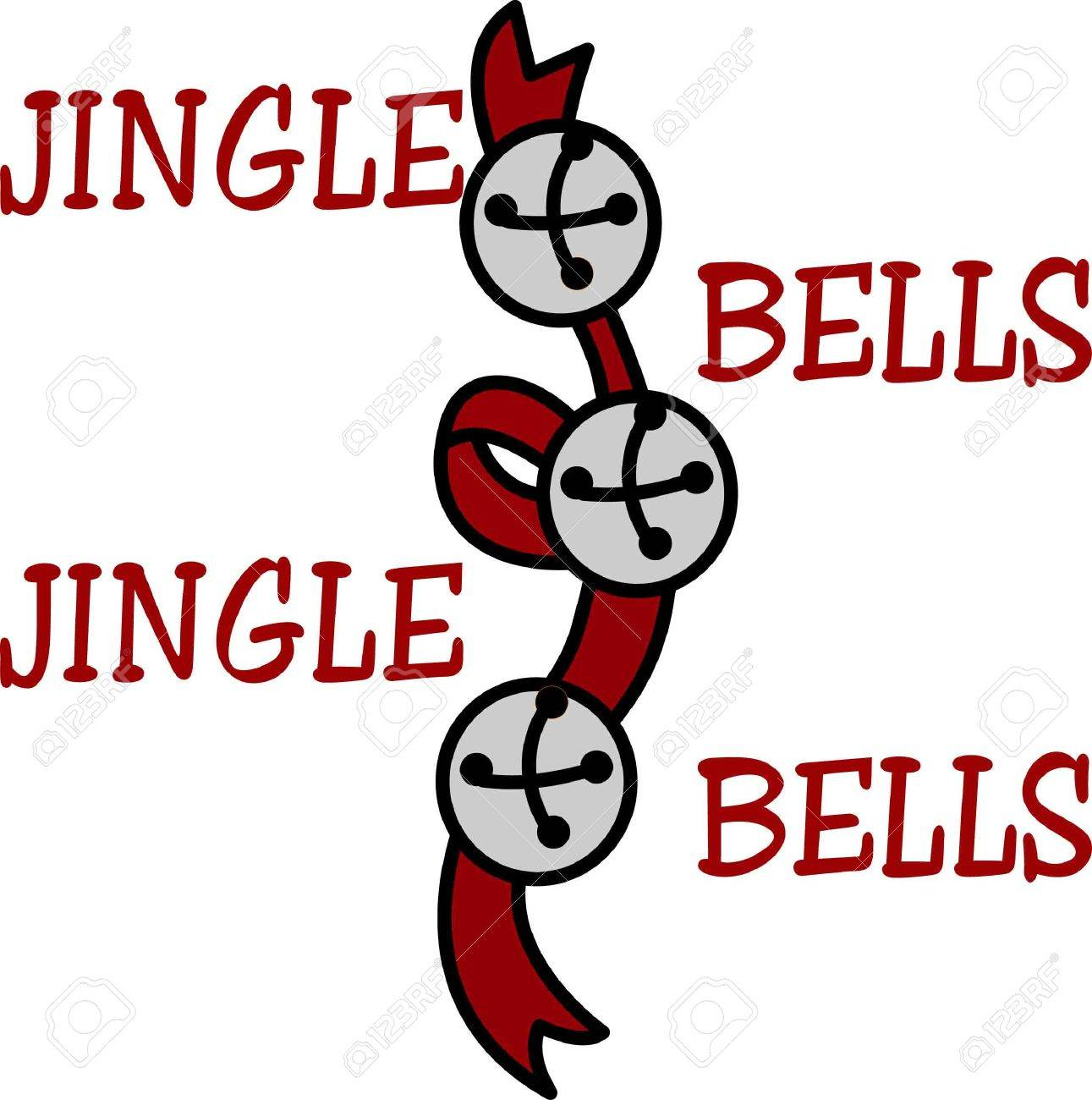 Sleigh bells jingle a cheery holiday sound  This happy holiday