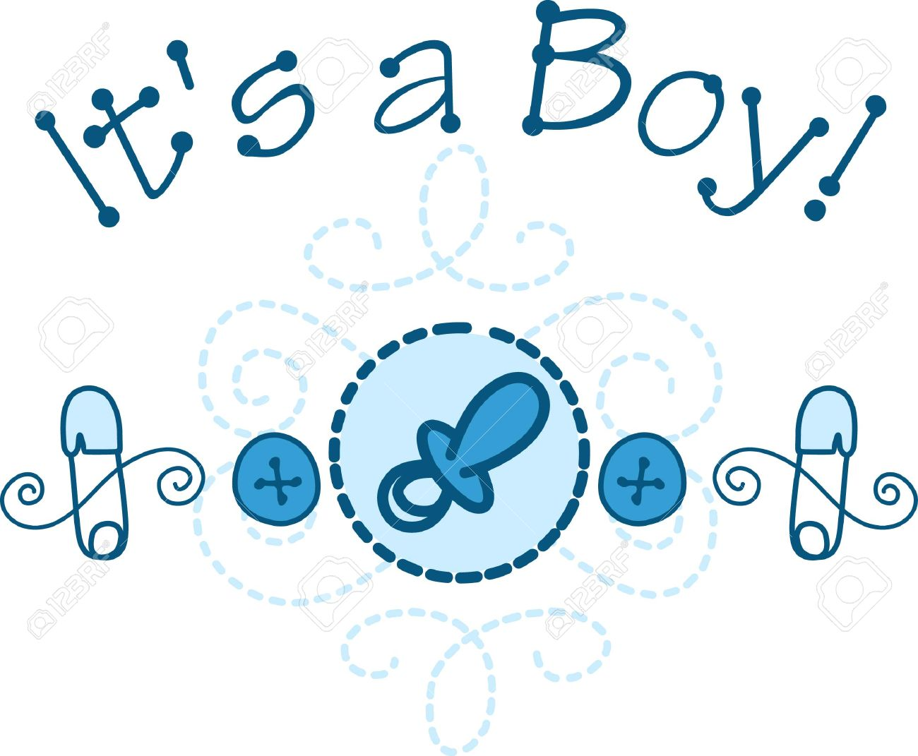 welcome the new baby boy with this cute design of baby necessities