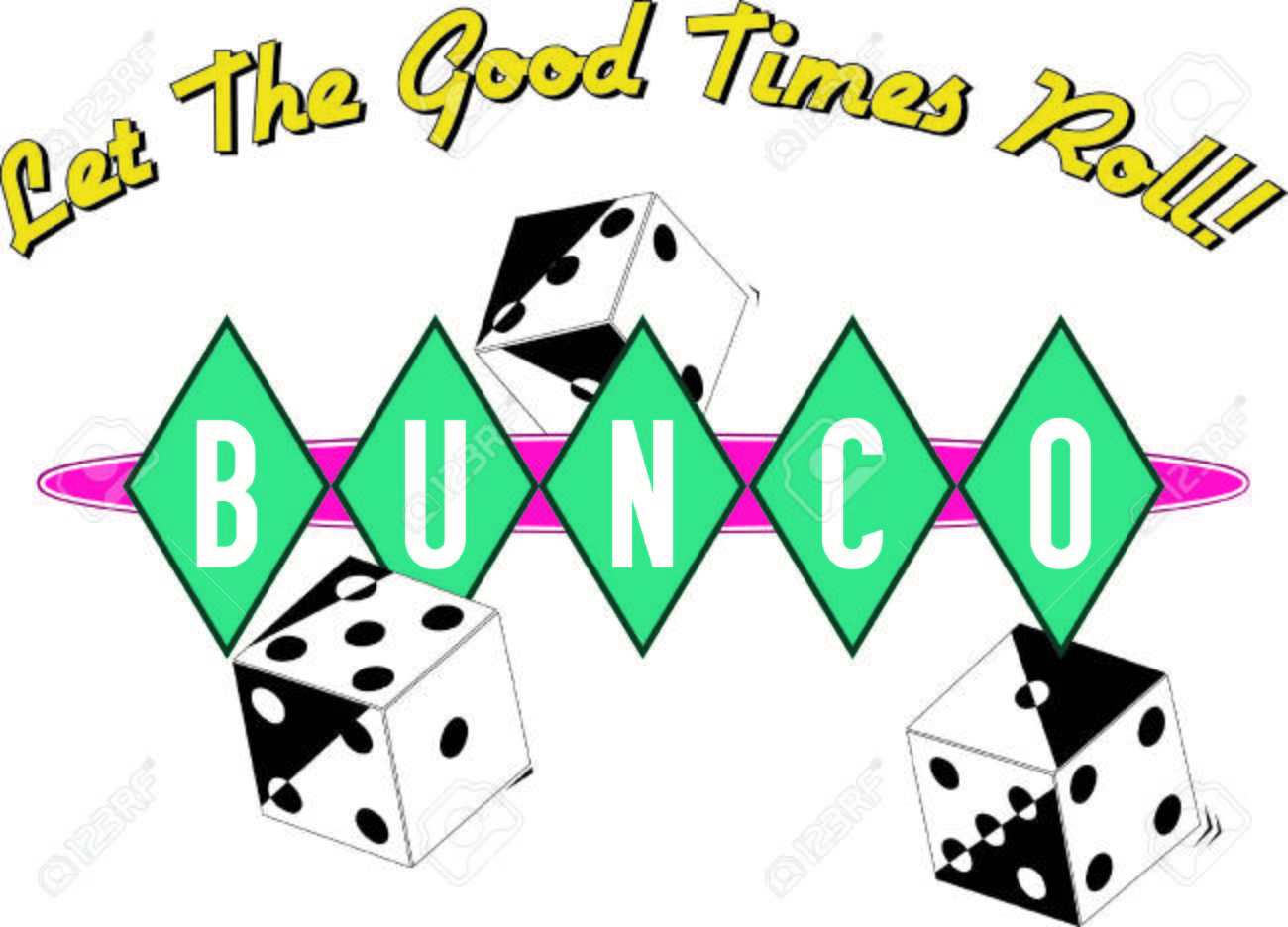 135 bunco stock vector illustration and royalty free bunco clipart rh 123rf com bunco clipart free bunco clip art images