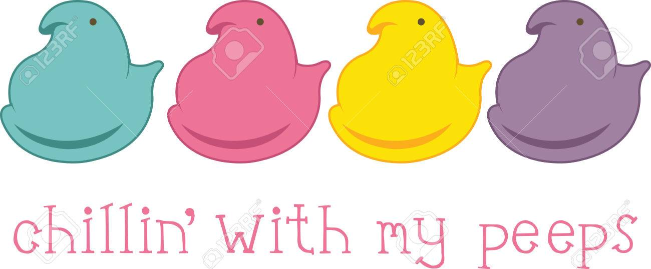 these colored peeps are perfect for your easter design royalty free rh 123rf com peeps bunny clipart peeps clipart free