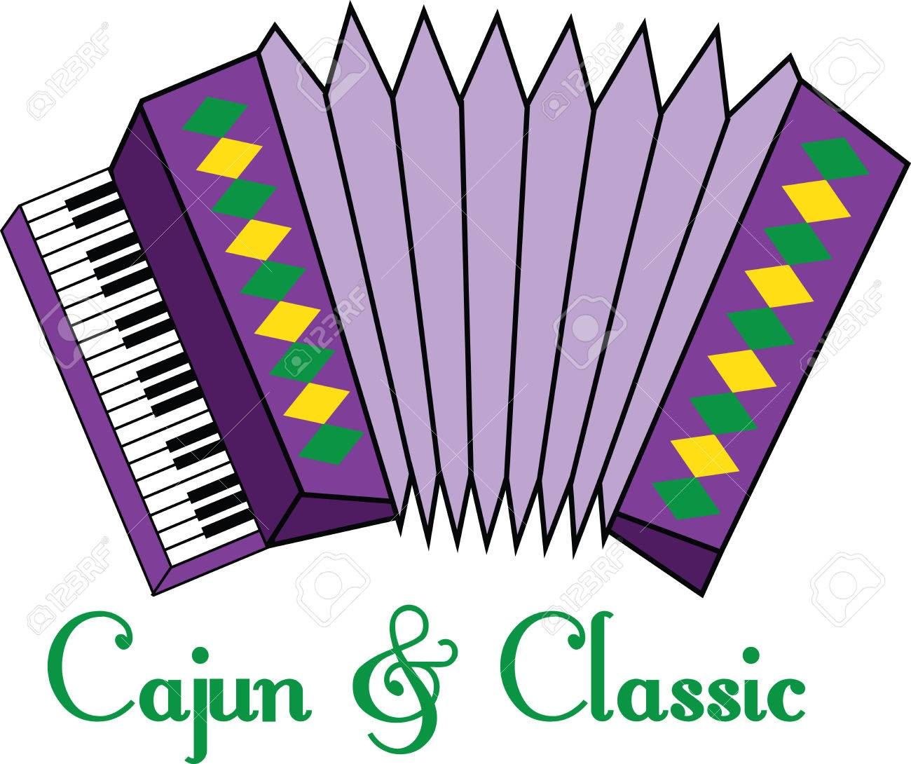 this lively and colorful accordion design is a stylish accent