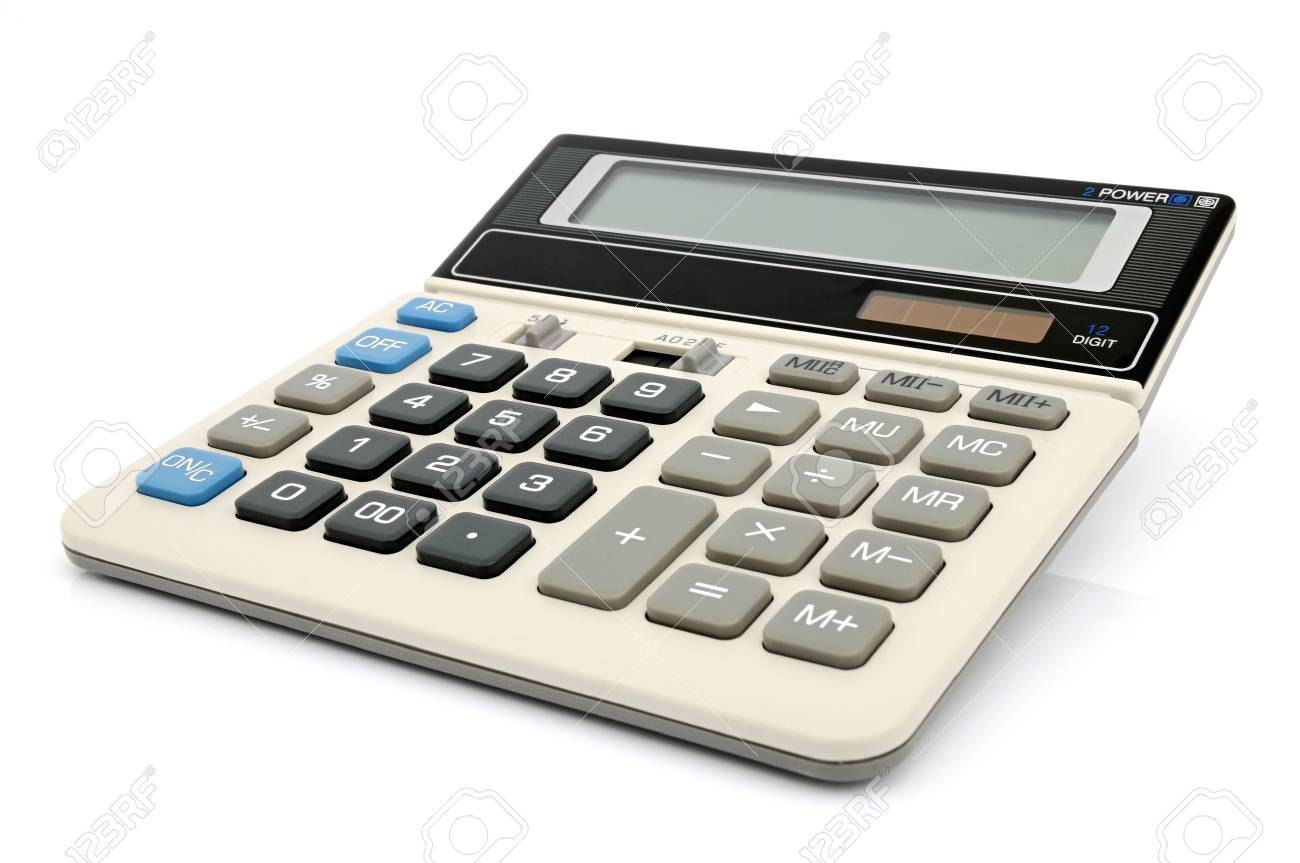 A Calculator With An Autonomous Power Supply From The Solar Battery Calculations For Supplies Stock Photo 6737785
