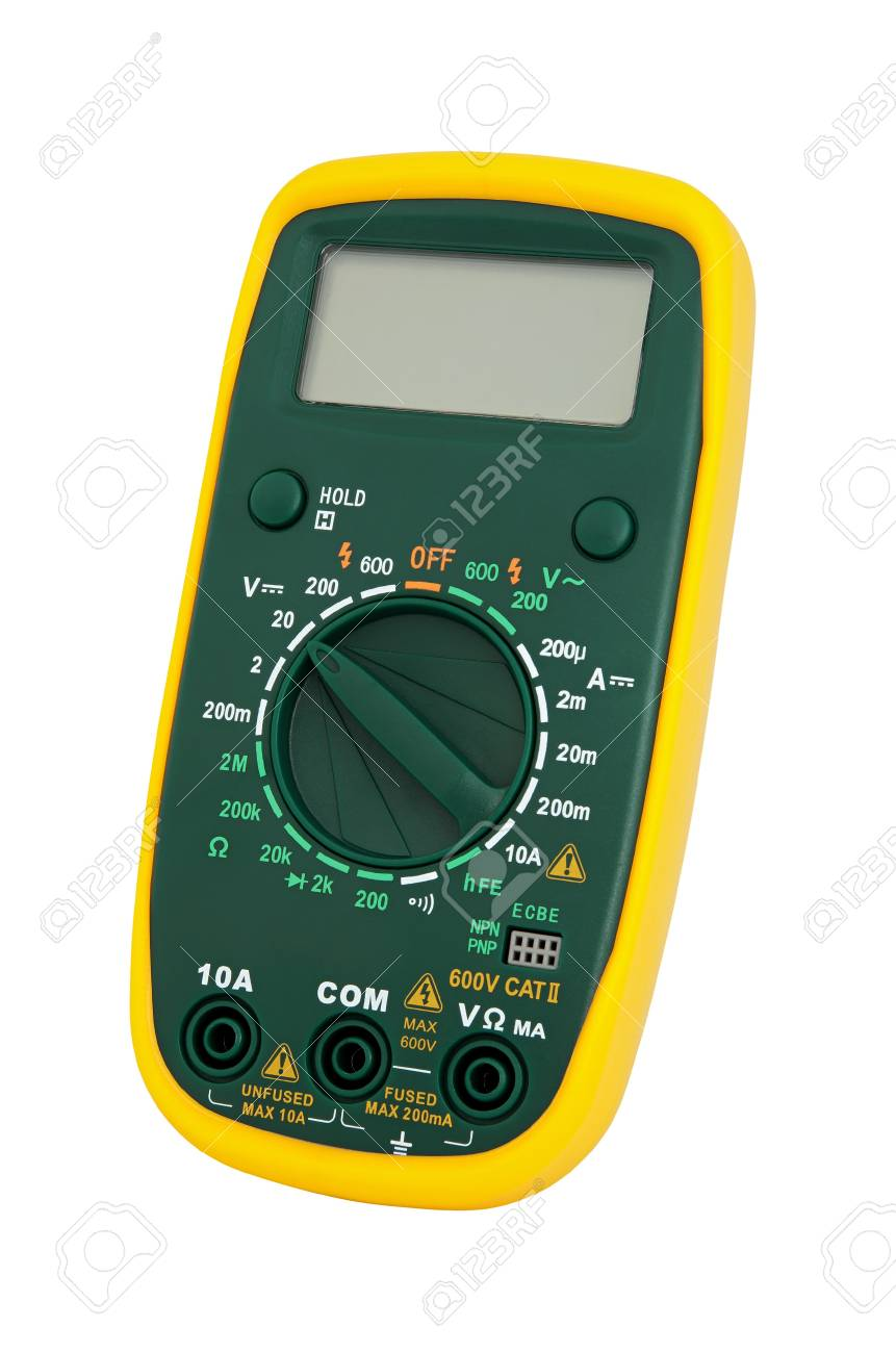 Multimeter for a measurement of a voltage, current and resistance. Stock Photo - 8775911