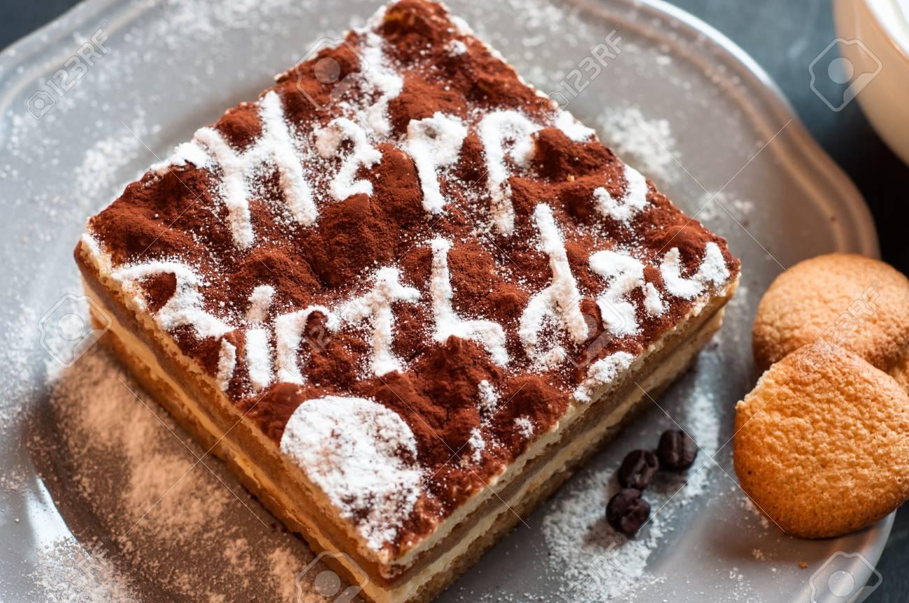 kue ulang tahun tiramisu