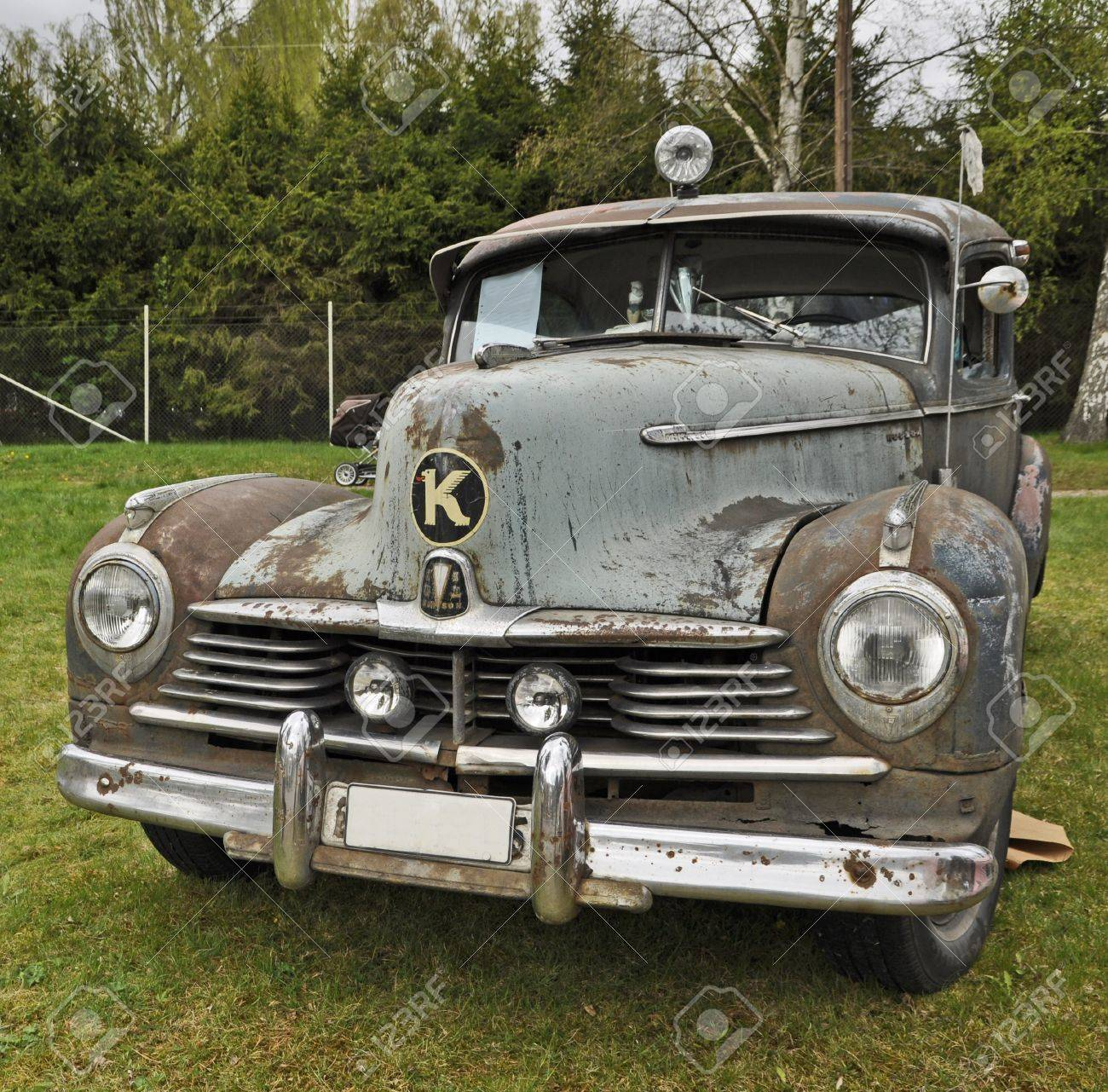 Heby, Sweden-May 12: Exhibit Of Old American Classic Cars Restless ...