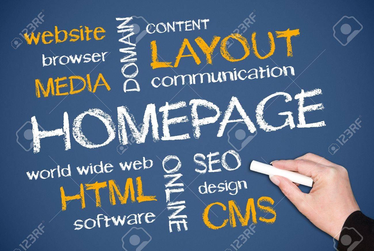 Homepage Stock Photo - 17857901