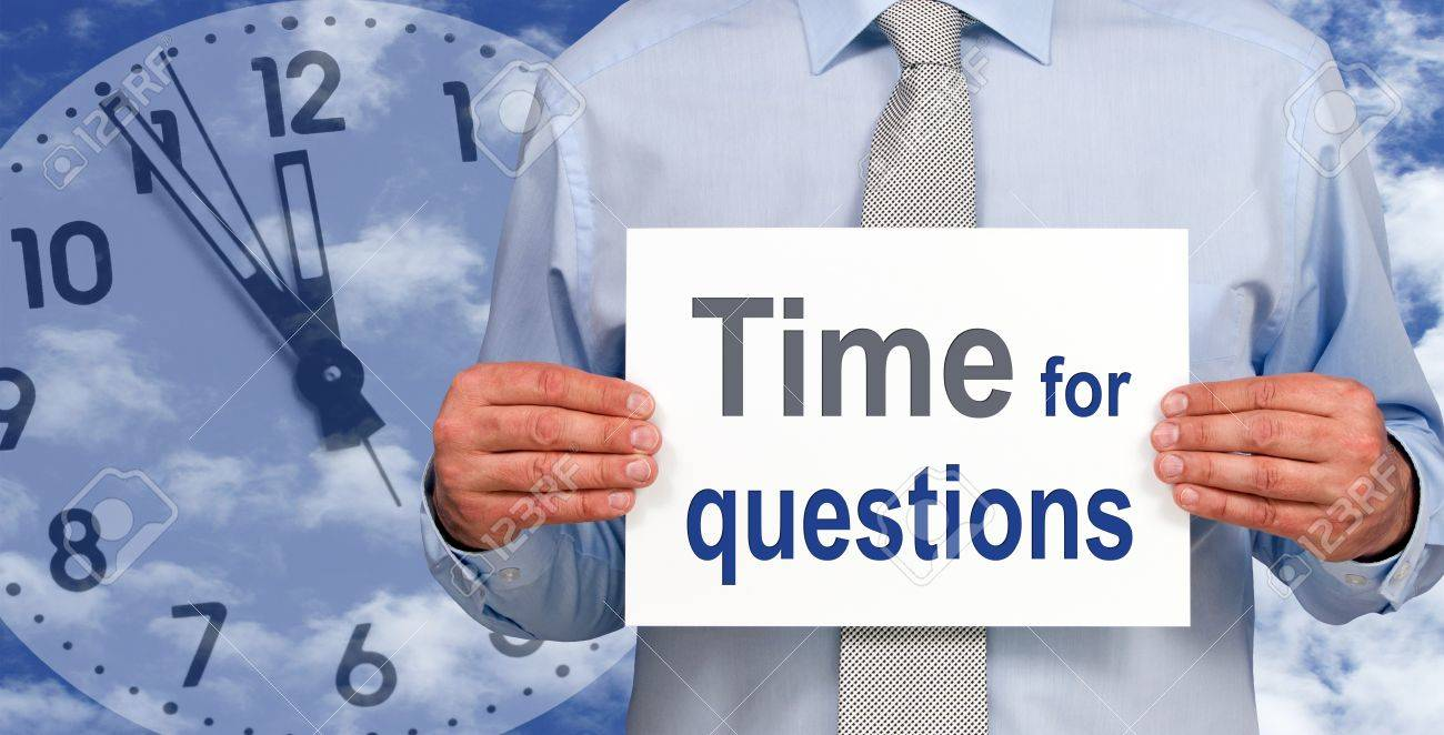 Time for questions Stock Photo - 17982162
