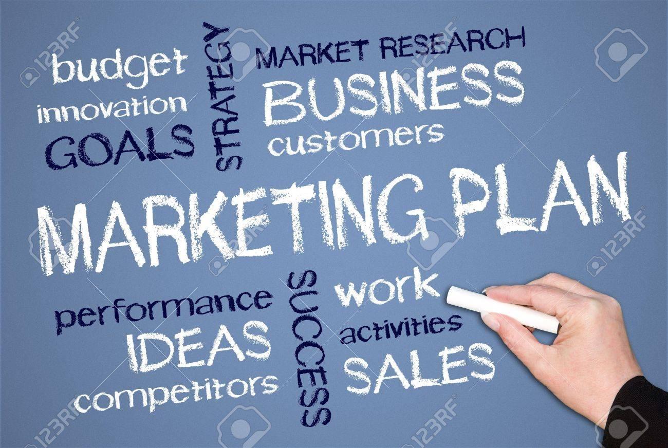 Marketing Plan Stock Photo - 18056194