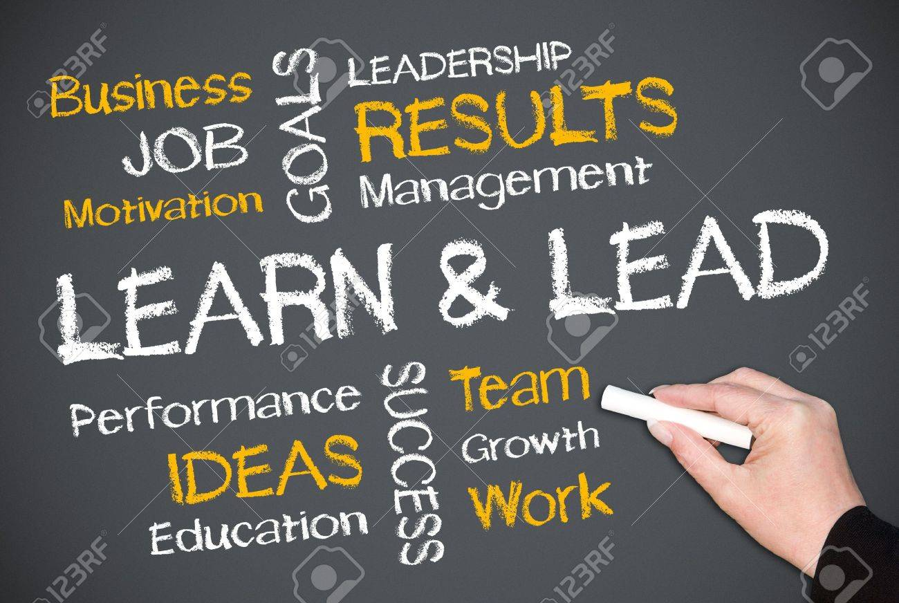 Learn and Lead Stock Photo - 18056283