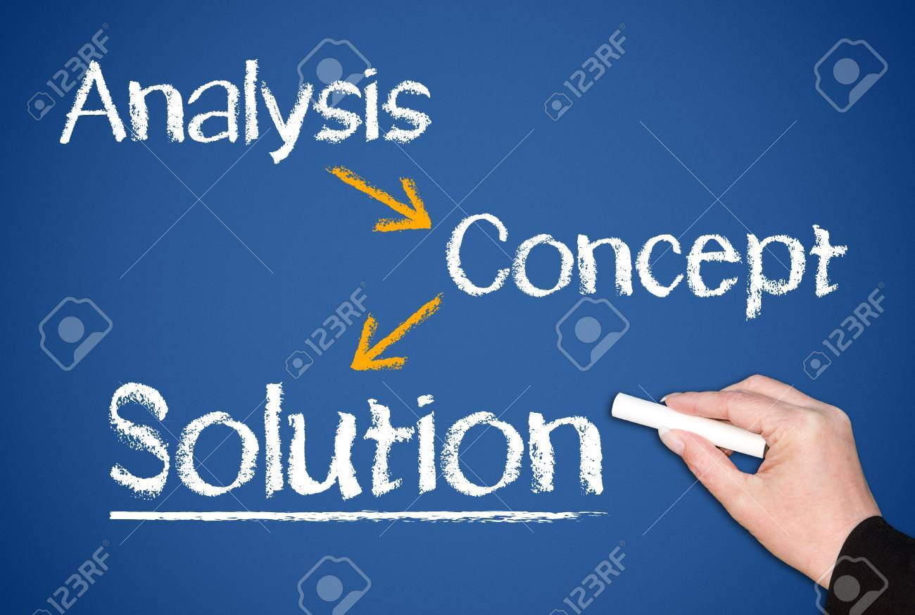 The Solution Stock Photo - 18159327