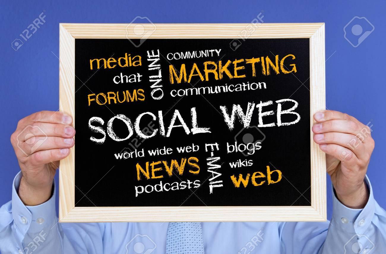 Social Web - Business Concept Stock Photo - 18276820