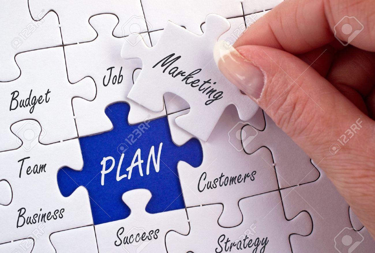 Marketing Plan Stock Photo - 18787874