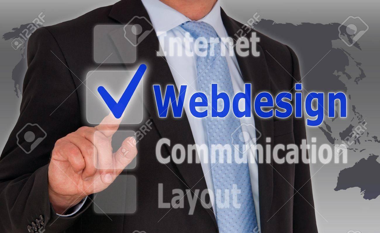 Webdesign Stock Photo - 21402489