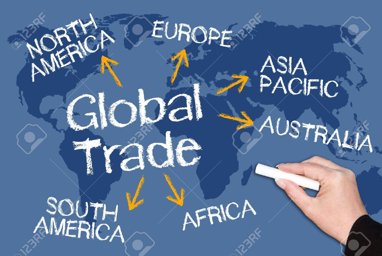 Global Trade Stock Photo, Picture And Royalty Free Image. Image ...