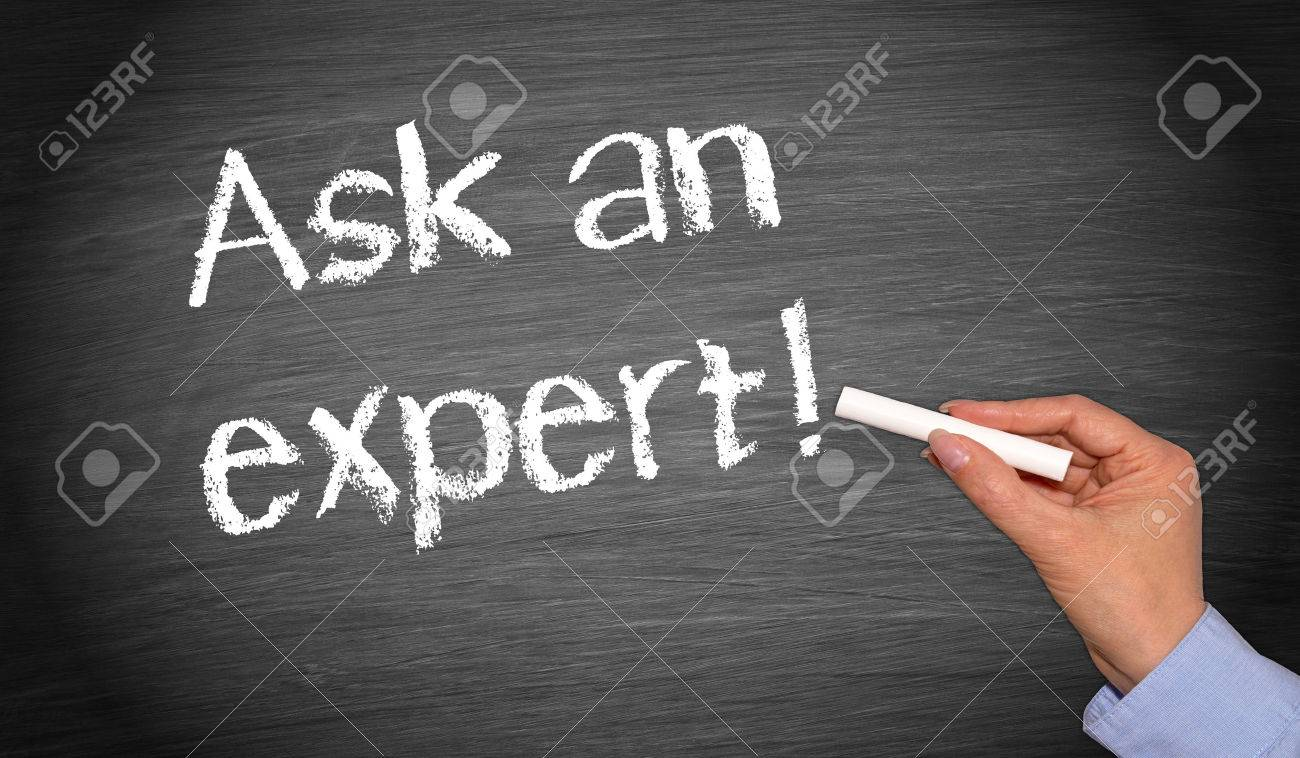 Ask an expert Stock Photo - 23313047