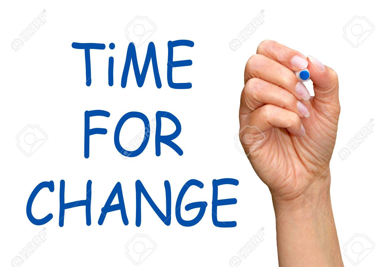 Time for Change Stock Photo - 23744820