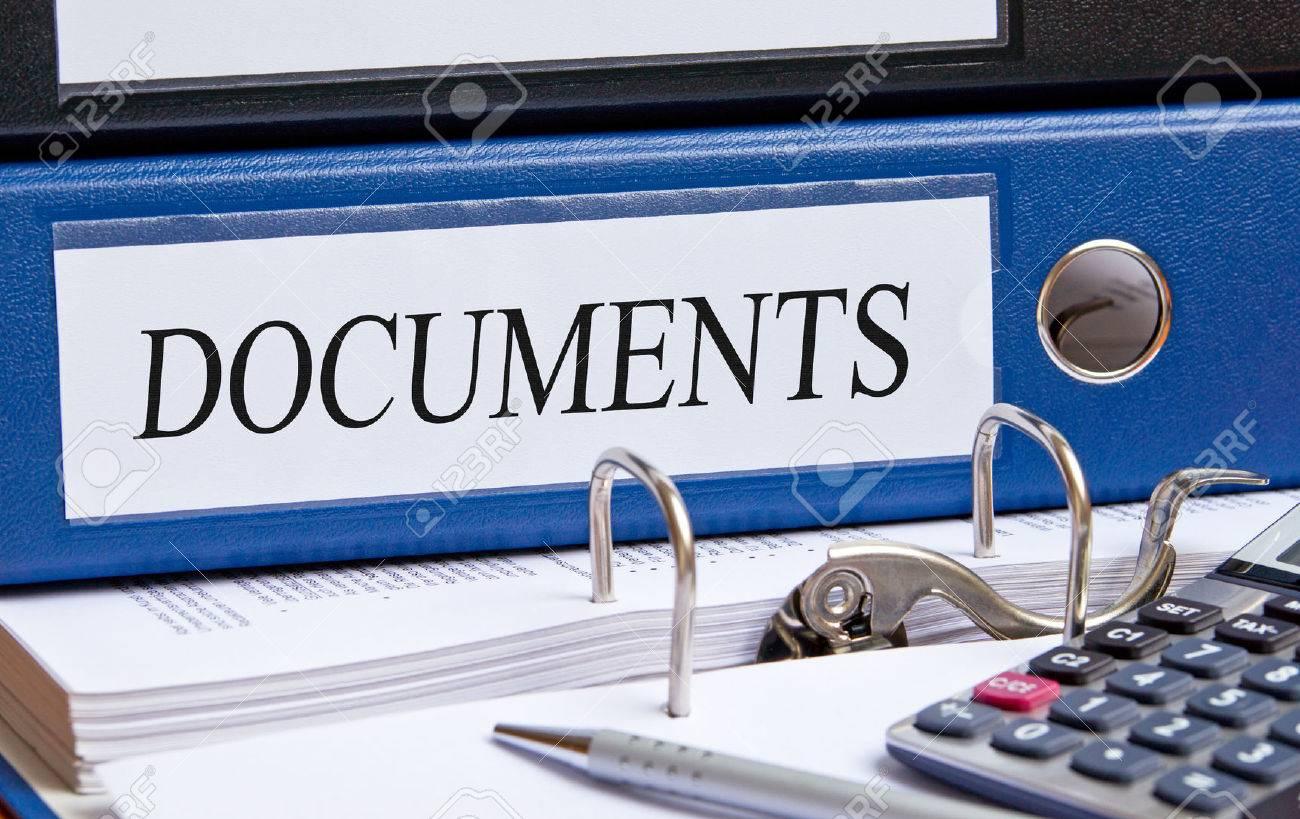 Documents Stock Photo - 24155137