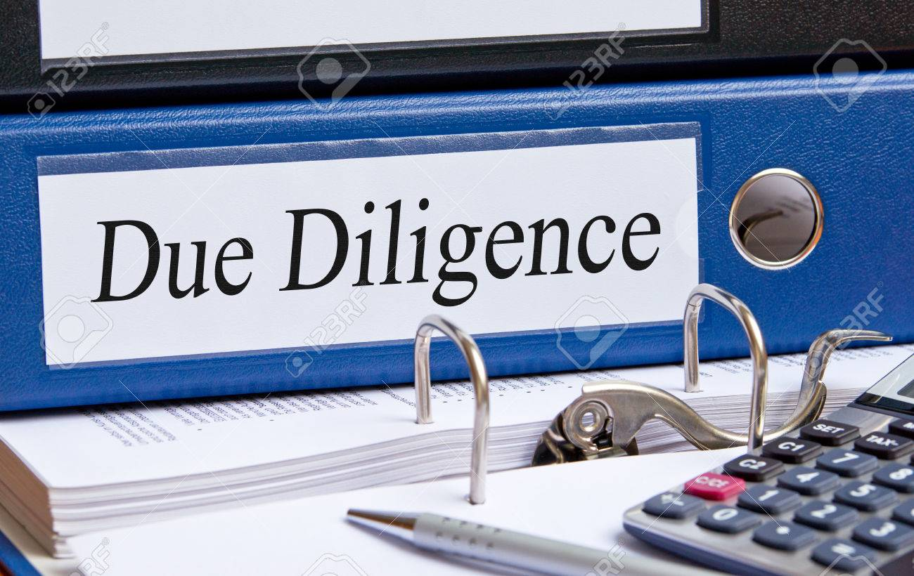 Due Diligence - 27080803
