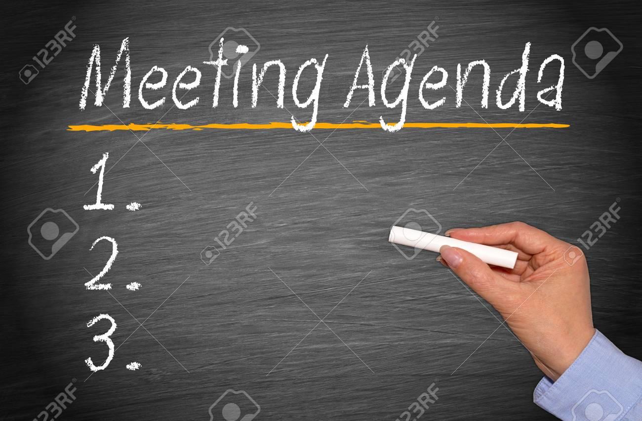 Meeting Agenda Fotos, Retratos, Imágenes Y Fotografía De Archivo ...