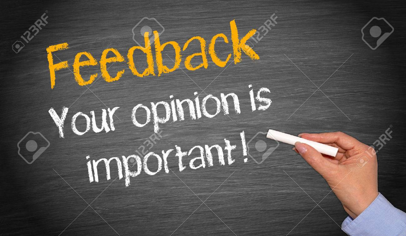 Feedback - your opinion is important ! Stock Photo - 35870767
