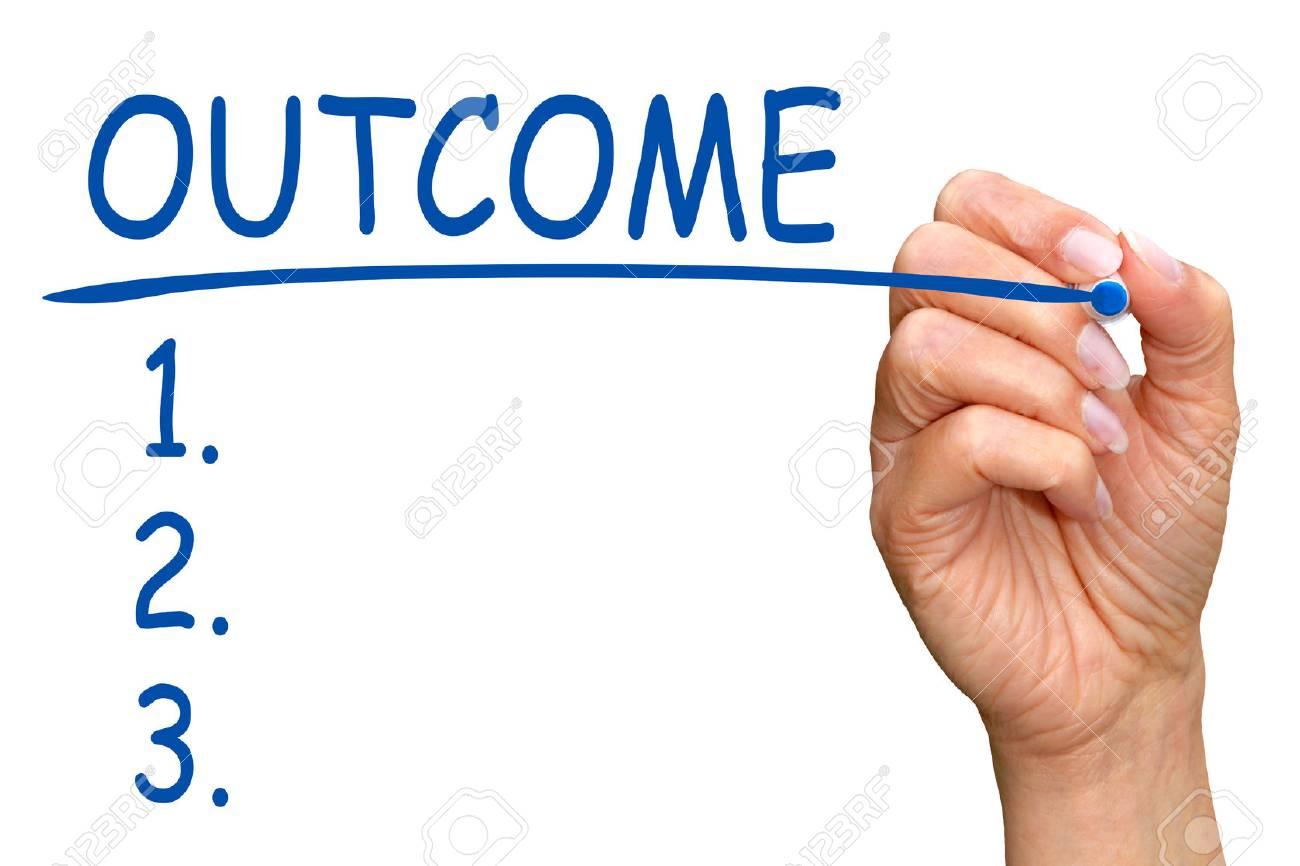 Outcome - Checklist Stock Photo - 35870768