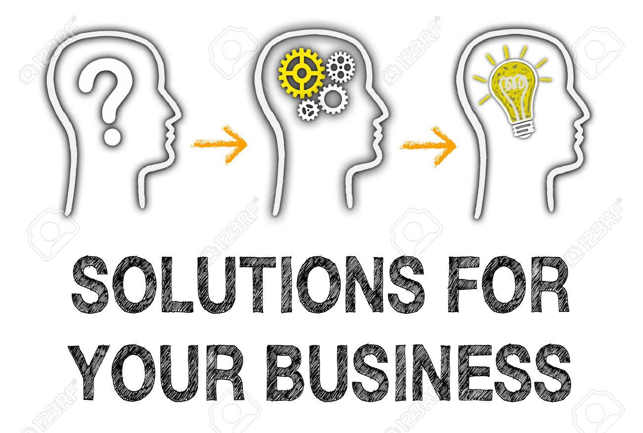 Solutions for your Business Stock Photo - 35870774