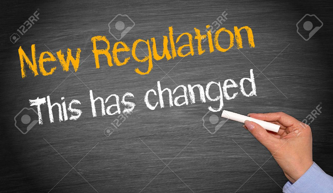 New Regulation - This has changed - 36010120